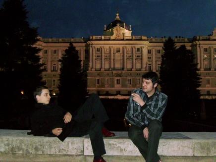 CGB ante el Palacio Real