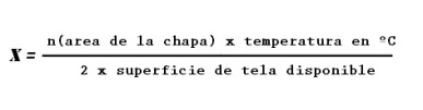 formula chapas